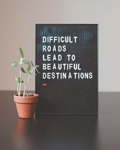 transpersonal journey with beautiful destinations sign