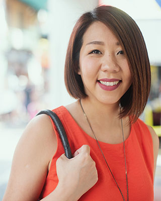 woman positive about life changes and new beginning